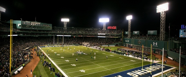 Shamrock Series at Fenway Park